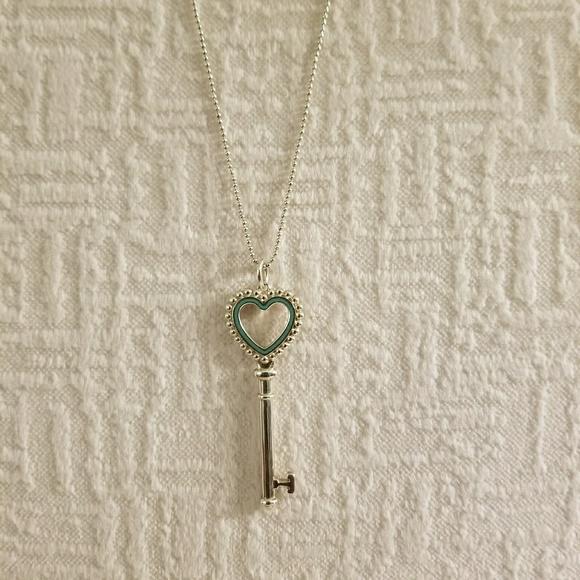 Tiffany co jewelry tiffany keys beaded heart key pendant poshmark m5a6686c850687c5c98ce004e aloadofball Image collections